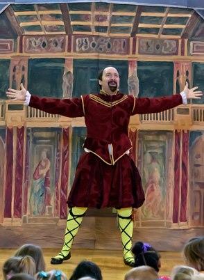 Dan as Shakespeare